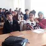 Встреча со студентами ТНУ
